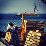 fiskfångst i Puerts de Mazzaron